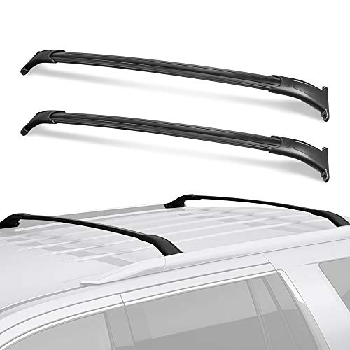 MOSTPLUS Roof Rack Cross Bar Rail Compatible for GMC Yukon/Chevy Tahoe/Cadillac Escalade with Side Rails 2015 2016 2017 2018 2019 2020 Cargo Racks Rooftop Luggage Canoe Kayak Carrier Rack
