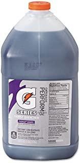Gatorade Liquid Concentrate, Fierce Grape, 1 Gallon Jug - four bottles.