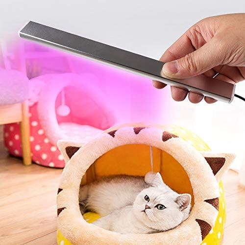 5W draagbare LED-ultraviolette reinigingslamp, handheld UV-lamp draagbare UV-licht handheld mini hygiënestokdesinfecterend middel voor het reinigen van huistelefoon