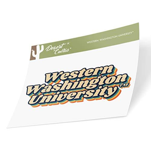 Western Washington University WWU Vikings NCAA Vinyl Decal Laptop Water Bottle Car Scrapbook (70