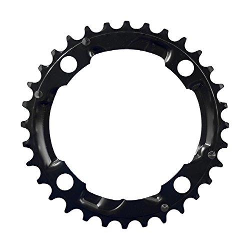 FSA Unisex Stahl 3x 10Shimano MTB Kettenblatt, schwarz, 104× 32Z