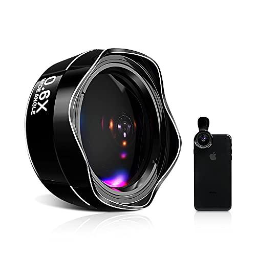 スマホレンズスマホ用カメラレンズ広角レンズマクロレンズクリップ式レンズiphoneandroidタブレットなど対応高画質簡単装着歪みなし携帯レンズ自撮りレンズ交換レンズ可スマホレンズ2in1ブラック