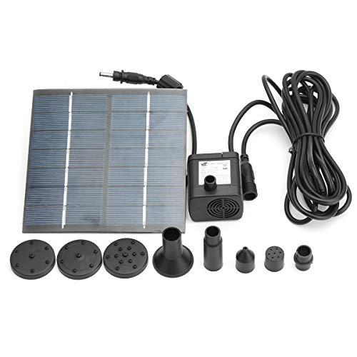 MJJEsports Jt-180 1,4 W 7 V zonnepaneel vermogen fontein pomp buiten tuin vijver zwembad dompelpomp waterpomp kit