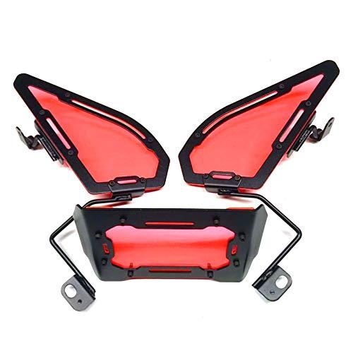 RONGLINGXING Powersports Teile Motorrad-Endstück-Box Zubehör Storage Box Dekoration Änderung Kit for Honda Zoomer Zuma X110 (Color : Red)