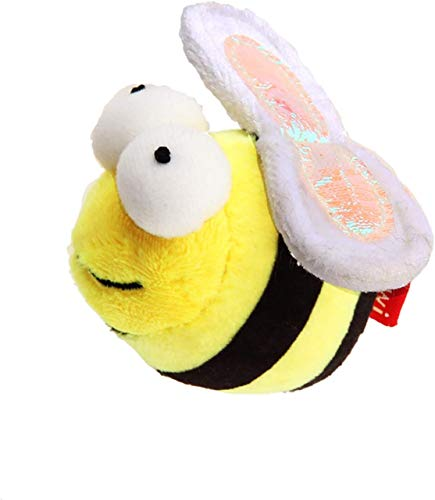Gigwi Chirpy Bee Sound Toy for Cats, Interactive Squeaking Cat Toys Melody Chaser Play N Squeak Kitten Toy for Boredom