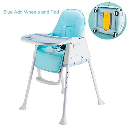 HEEGNPD Baby eetkamerstoel voor hoge stoel voor verstelbare multifunctionele voering eetkamerstoel zitverhoging voor pasgeborenen