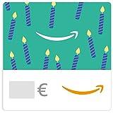 Chèque-cadeau Amazon.fr - E-mail - Bougies d'anniversaire émeraudes