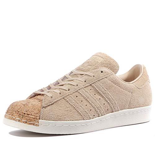 adidas Originals Superstar II Schuh mit Low-Top für Erwachsene, Unisex, Elfenbein - mehrfarbig - Größe: 40 EU