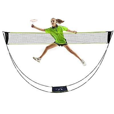 Amazoncom  AmazeFan Portable Badminton Net Set with