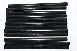 50pcs Black Hot Melt Glue Sticks, 11mm x 200mm