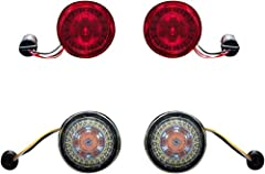 Kit Includes: Front 1157 ProBEAM Amber/White Dynamic Ringz Rear 1157 ProBEAM Red LED Turn Signals (models without center taillight) Smoked front turn signal lenses Red rear turn signal lenses ProBEAM Turn Signals are DOT and SAE Compliant and are bac...