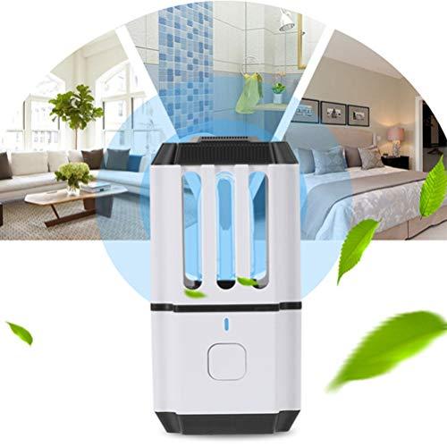 UV Ozonsterilisatie Licht, Draagbaar Huis Ultraviolet Bacteriedodende Desinfectie Lamp Met Een USB-Oplaadkabel Ontwerp Voor Air Zuivering Deodorant En Mijt Verwijdering