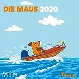 Die Maus - Broschurkalender - Kalender 2020 - teNeues-Verlag - Art & Image - Wandkalender mit Maus, Elefant, Ente und Platz für Eintragungen - 30 cm x 30 cm (offen 30 cm x 60 cm)