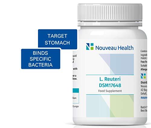 Nouveau Health L. reuteri DSM17648 Pylopass Targets Specific Bacteria