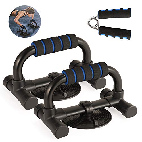 FORMIZON Soporte para Flexiones, 1 Par de Push up Bars Stand + Fortale