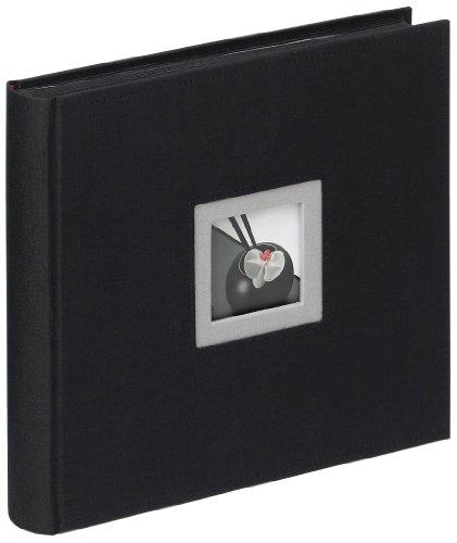 Walther, Black & White, Álbum De Fotos, FA-209-B, 26x25 cm, 50 Páginas Negras, Negro
