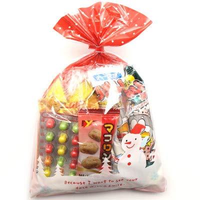 クリスマス袋 205円 お菓子 詰め合わせ 駄菓子 袋詰め おかしのマーチ