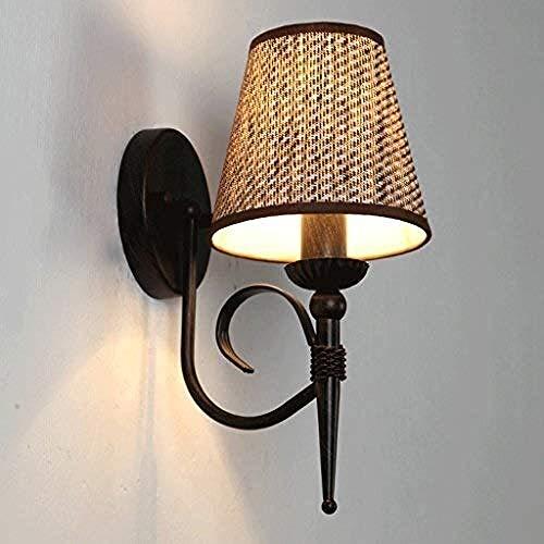 Wandlampen, wandlampen, wandlampen, modern, eenvoudig, langwerpig, hangend, slaapkamer Bedside Wall Lamp Creative Stairs Intrance Iron Metal Wall Light Living Room Study Farmho