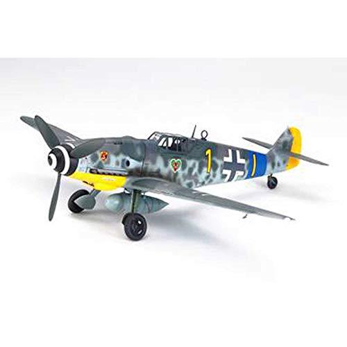 Tamiya 61117 1/48 Messerschmitt BF 109 G-6 Plastic Model Airplane Kit