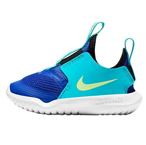 Nike Kids Flex Runner (Kleinkind/Kleinkind), Blau (Blau/Grün), 20 EU