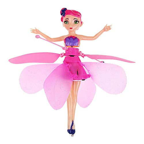 Cute Flying Fairy Magic Infrared Induction Control Princess Dolls Toy