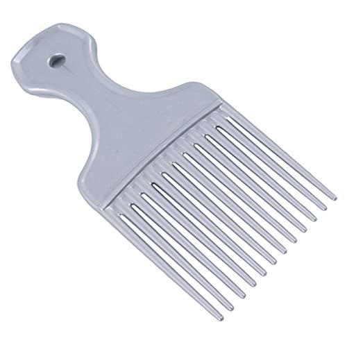 Akaid Peine para el cabello, cepillo de dientes ancho, peine para recoger, tenedor, peine para insertar, peine para recoger el cabello, peine para engranajes de plástico