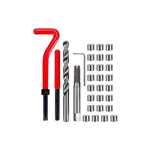 JPON Nuevo 30pcs Herramienta de herramienta de herramienta de herramienta de herramienta de acero inoxidable Conjunto de herramientas de reparación con mango de plástico Tornillo de tornillo de tornil