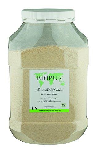 Biopur Bio Aanvullende voeding voor honden aardappelvlokken, per stuk verpakt (1 x 1,5 kg)