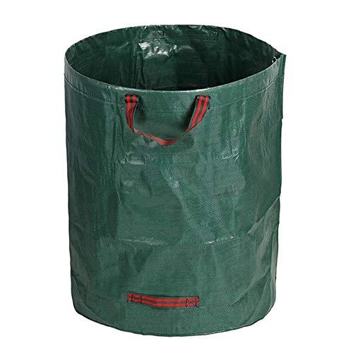 Surakey Gartensack 300 L, Faltbar Abfallsack, 4 Reißfeste Griffe - Laubsäcke Gartenabfallsack Abfallsäcke Sack Behälter für Gartenabfälle, Pflanz Grünschnitt