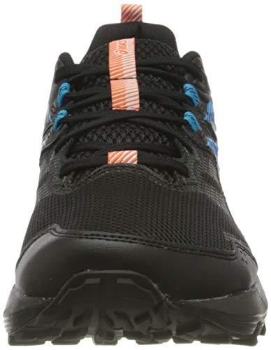 Asics Gel-Sonoma 6, Trail Running Shoe Hombre, Black/Digital Aqua, 46 EU