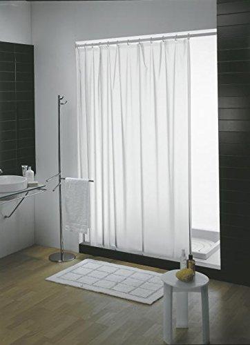 Gedy 6024612930–glatte Duschvorhang 240x 200weiß