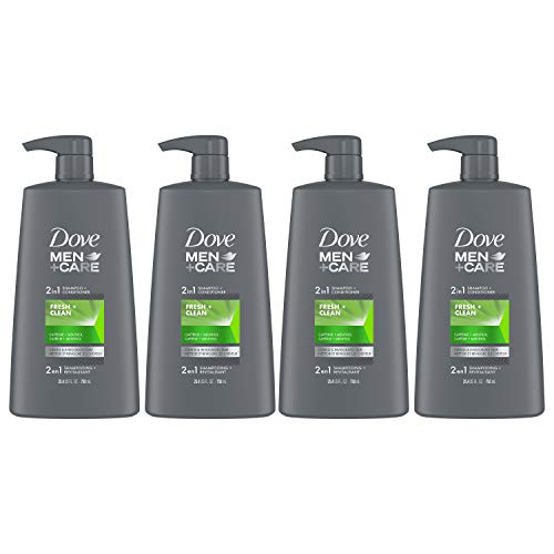 Dove 2 in 1 2 in 1 Shampoo and Conditioner Fortifies Hair Fresh and Clean Helps Strengthen Hair 25.4 oz Pack of 4