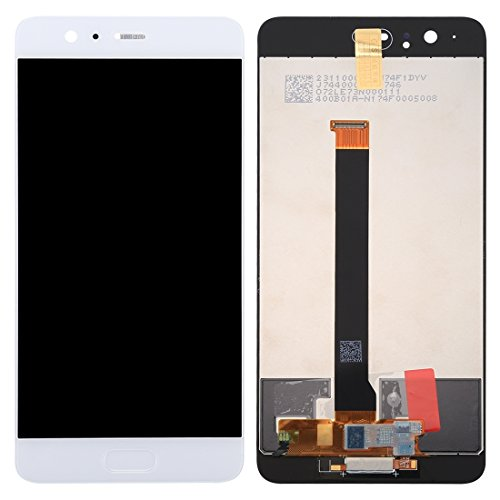 Compatibele Vervangings Toepasselijk for Huawei P10 Plus LCD-scherm + Touch Screen (Color : White)