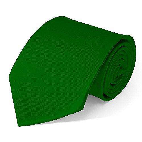 SoulCats® clásico del lazo que las instrucciones de uso de ancho muchos caballeros lazo de satén de color, de color verde :.
