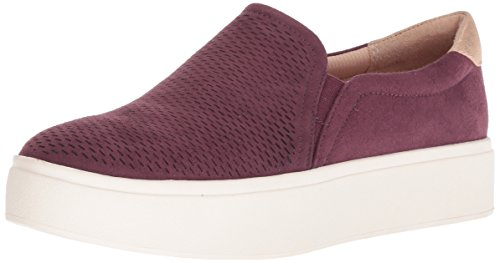 Dr. Scholl's Shoes Women's Kinney Sneaker, Violet Microfiber Perforated, 11 M US