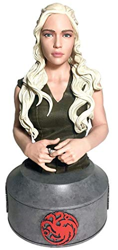 Juego de Tronos- Figura-Replica Busto Daenerys Targaryen, Multicolor (Dark Horse SEP170139)