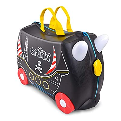 Trunki Children?s Ride-On Suitcase: Pedro the Pirate Ship (Black)