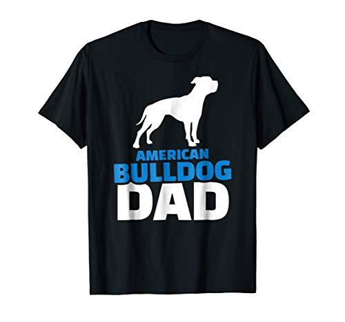 Mens American bulldog dad T-Shirt