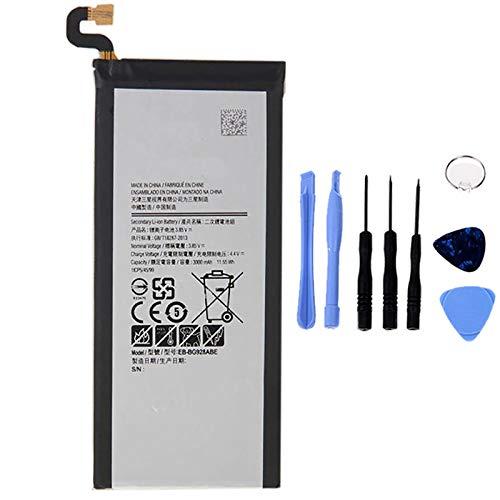 Ellenne Batería compatible con Samsung Galaxy S6 Edge+ Plus G928F EB-BG928ABE de alta capacidad 3000 mAh con kit de desmontaje incluido