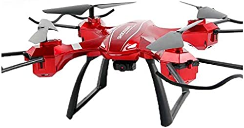 ZMJY Mini Remote Drohne, intelligente Rückkehr professionelle Drohne Fernbedienung Flugzeuge Quadcopter Modellflugzeuge HD Luftbild Fotografie Spielzeug,rot,B