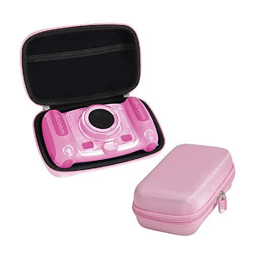 Hermitshell Funda rígida de EVA para cámara de selfies VTech Kidizoom Duo/Twist (rosa)