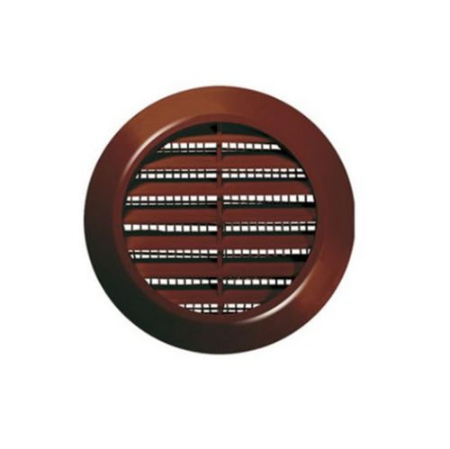 MINI Circle Air Vent Grille Cover 70mm(2.75inch) Ducting BROWN Ventilation Cover High Quality ABS Plastic
