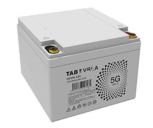 Batería AGM 12V 26Ah Sin Mantenimiento Ni Gases, Válvula VRLA - TAB 5GVRLA26