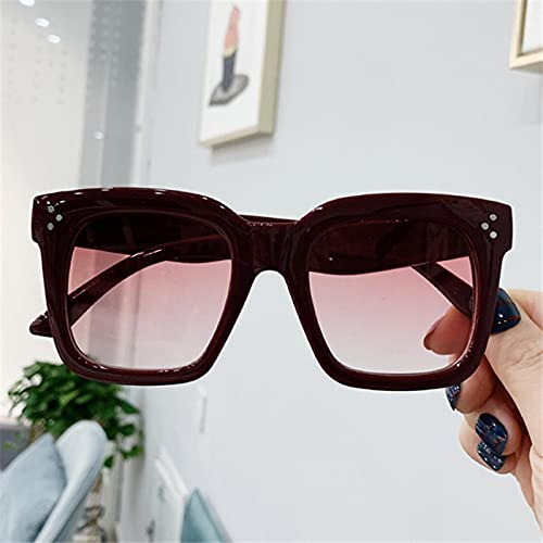 ShSnnwrl Gafas Sol De Hombre Mujer Polarizadas Sunglasses Gafas De Sol Cuadradas De Lujo para Mujer, Hombre, Diseño De Marca, Gafas De Sol