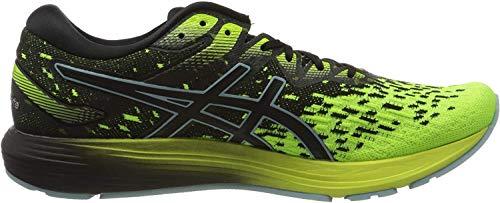 Asics Dynaflyte 4, Running Shoe Mens, Black/Safety Yellow, 44 EU