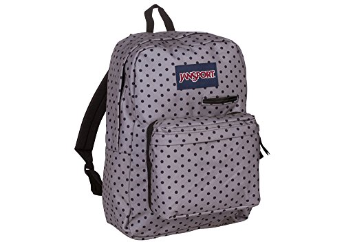 JanSport Digibreak 2 Laptop Backpack (Black Dot-O-Rama)
