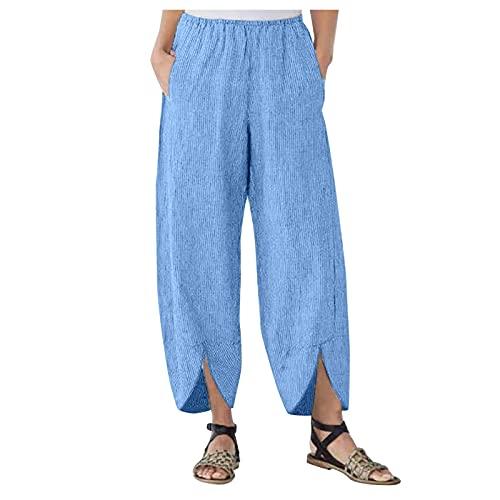 SKAW Mono Licra Mujer Pantalones Cortos Pantalon Corto NBA Lavar a máquina Estera de Yoga de Viaje cinturón Mono O Peto Mujer Leggings Azul XXL