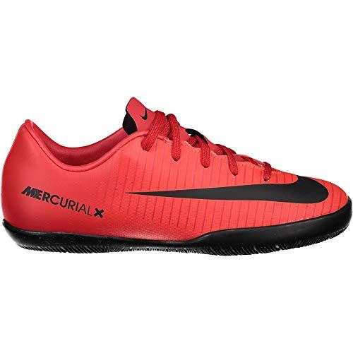 Nike Jr. Mercurial Vapor XI IC, Zapatillas de Fútbol Unisex Niños, Multicolor (University Red/Black-Bright CR), 35 EU