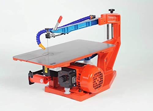 Hegner 1844000 Multicut SE 01844000-Sierra de marquetería eléctrica (400-1400 RPM Paso: 46...