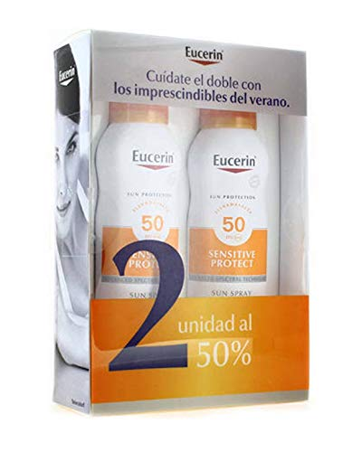 EUCERIN Sun Duplo Spray Transparent Dry Touch FPS50+